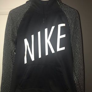 Nike Hoodie with Turtle Neck